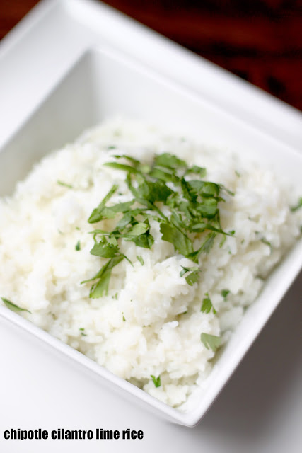 Chipotle Cilantro Lime Rice - Baked in the South