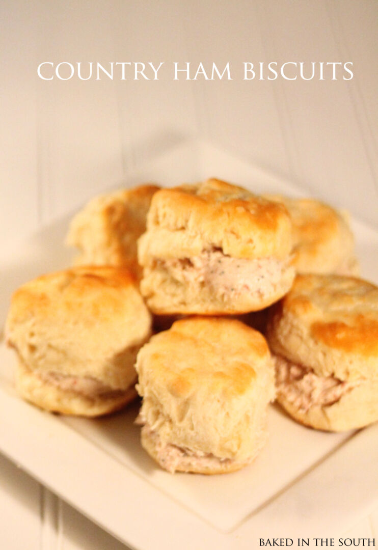 Country Ham Biscuits Recipe — Dishmaps