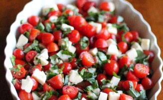 Italian Chopped Caprese Salad