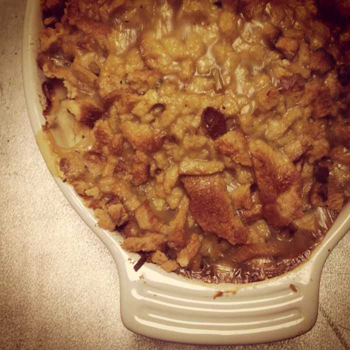 Turkey & Stuffing Casserole