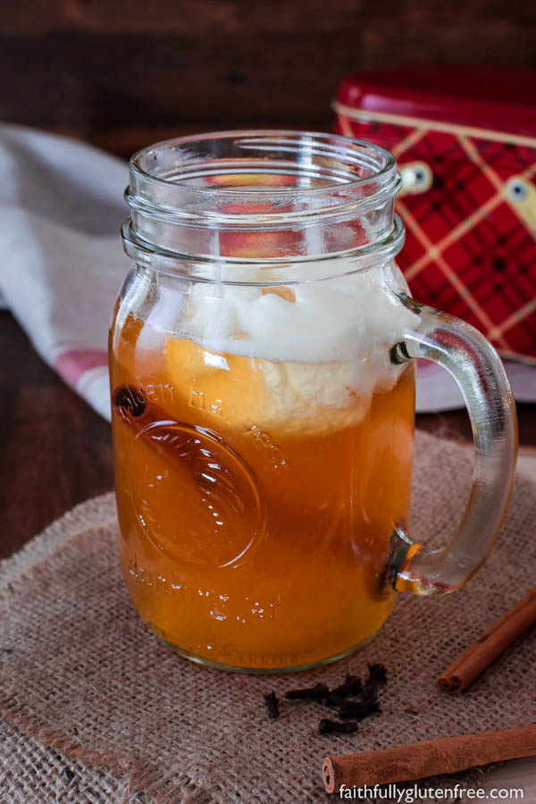 Spiced Apple Cider Made from Apple Juice - Faithfully Gluten Free