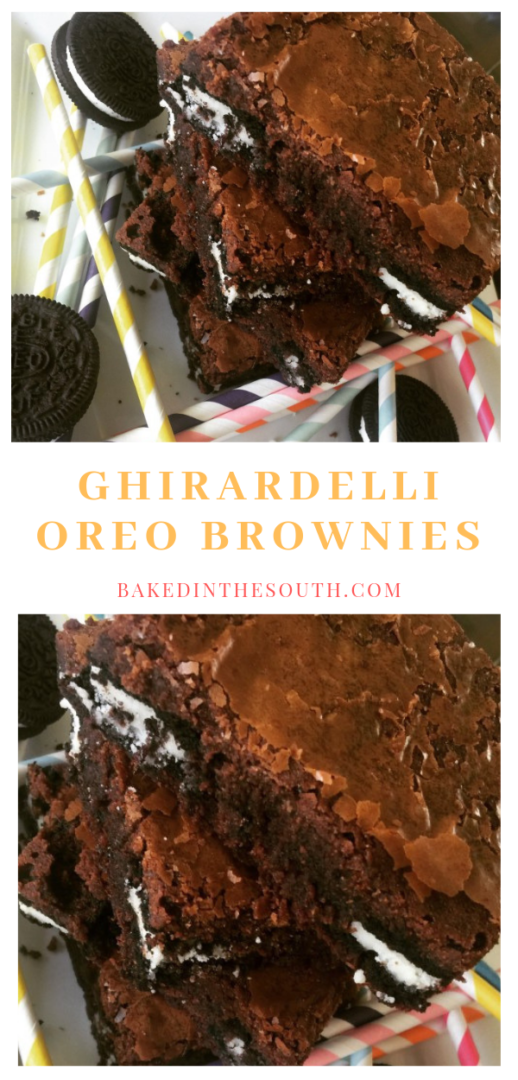 Ghirardelli Oreo Brownies