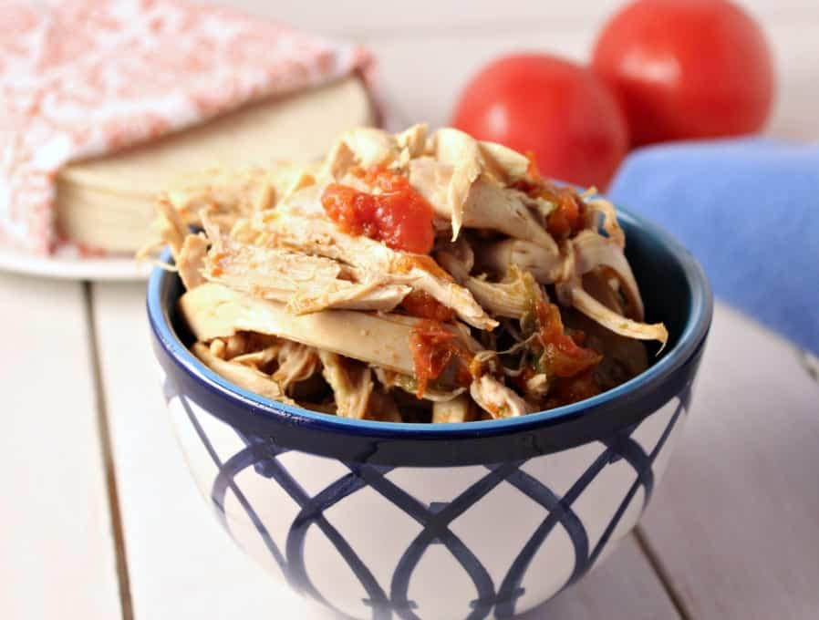 Crock Pot Mexican Shredded Chicken